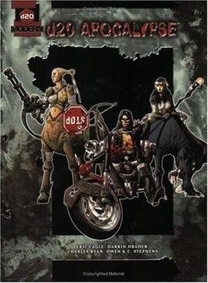 D20 Apocalypse - Image: D20 Apocalypse Book Cover