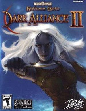 Baldur's Gate: Dark Alliance II - Image: Dark alliance II boxart