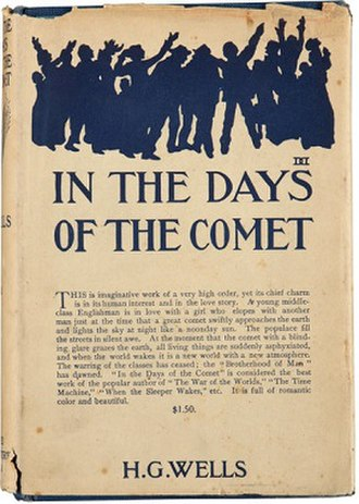 In the Days of the Comet - Cover of the first edition