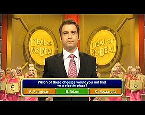 Deal or No Deal (Australian game show) - Multiple choice questions being asked on Deal or No Deal, 2006.