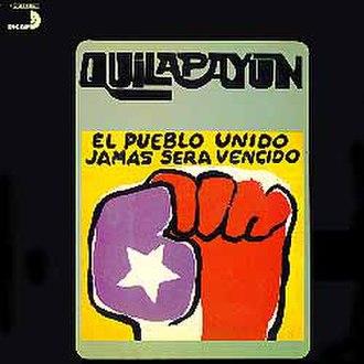 El Pueblo Unido Jamás Será Vencido (album) - Image: Dg quila 75