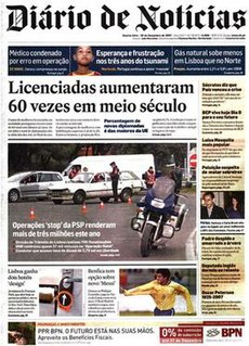 Portuguese daily newspaper