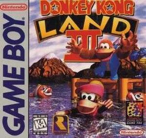 Donkey Kong Land III - Image: Donkey Kong Land III Coverart