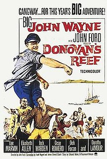 <i>Donovans Reef</i> 1963 film by John Ford
