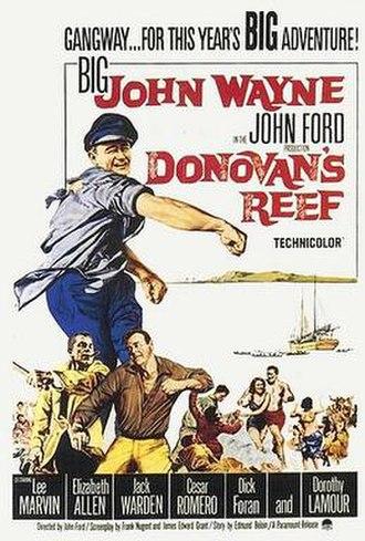 Donovan's Reef - 1963 poster