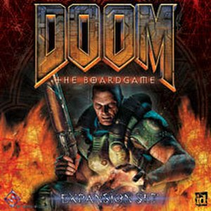 Doom: The Boardgame - Cover for Doom: The Boardgame Expansion Set
