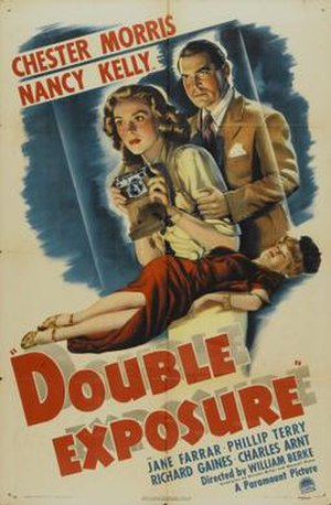 Double Exposure (1944 film) - Image: Double Exposure Film Poster