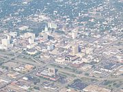 Downtown Topeka looking southwest