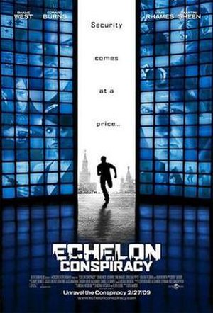 Echelon Conspiracy - Promotional film poster