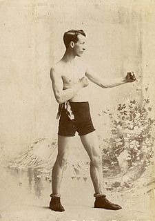 Eddie Santry American boxer