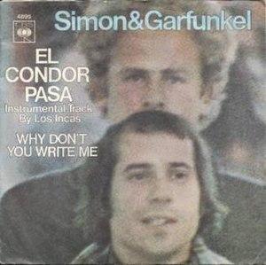 El Cóndor Pasa (song) - Image: El Condor Pasa cover by Sinon & Garfunkel