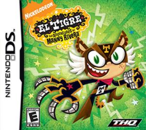 El Tigre: The Adventures of Manny Rivera (video game) - Image: El Tigre Coverart