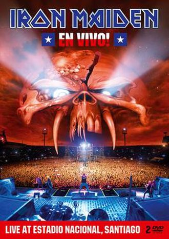 En Vivo! (Iron Maiden album) - Image: En Vivo! DVD