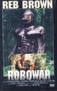 English language poster of movie Robowar 1988.jpg