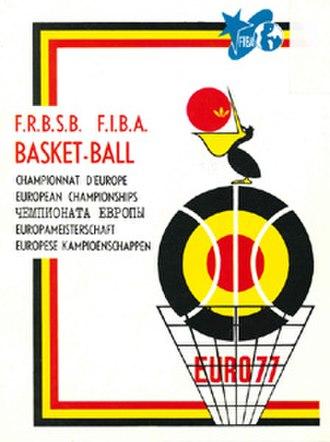 EuroBasket 1977 - Image: Euro Basket 1977 logo