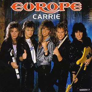 Carrie (Europe song) - Image: Europe Carrie single