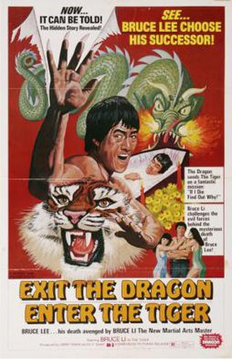 Exit the Dragon, Enter the Tiger - Image: Exitthedragonposter