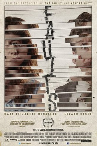 Faults (film) - Image: Faults (film) POSTER
