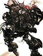 Final Fantasy VI artwork by Yoshitaka Amano