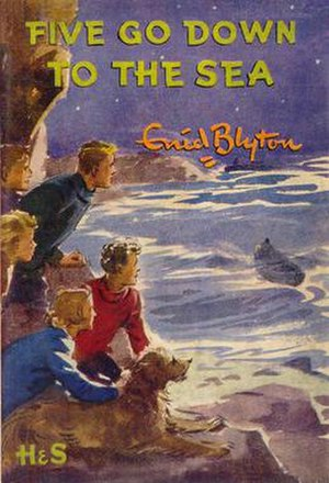 Five Go Down to the Sea - First edition