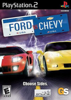 Ford vs. Chevy - Image: Ford vs. Chevy cover