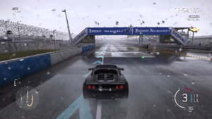 Forza Motorsport 6 - Forza Motorsport 6 features racing in rainy conditions on several tracks.