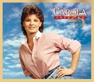 <i>Främling 25 år</i> 2008 greatest hits album by Carola