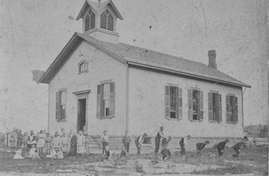 Schoolhouse in Wheatland District #3, Garbutt