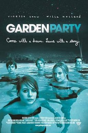 Garden Party (film) - Theatrical release poster