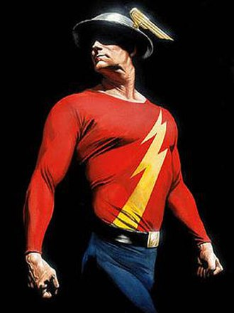 Flash (Jay Garrick) - Image: Garrick ross