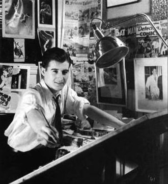 George Roussos - Roussos at his drawing board in 1941