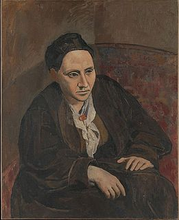 <i>Portrait of Gertrude Stein</i> Painting by Pablo Picasso