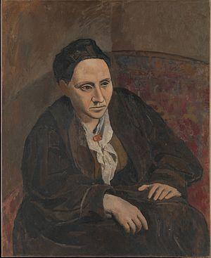 Portrait of Gertrude Stein, 1906, Metropolitan...