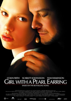 Girl with a Pearl Earring (film) - Theatrical release poster