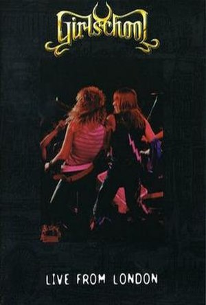 Play Dirty Live - Image: Girlschool live from london