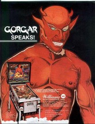 Gorgar - Image: Gorgar (pinball)