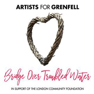 Bridge over Troubled Water (song) - Image: Grenfell Single