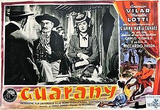 <i>Guarany</i> (film) 1950 film by Riccardo Freda