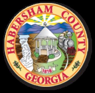 Habersham County, Georgia - Image: Habersham County GA seal