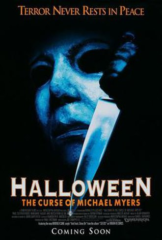 Halloween: The Curse of Michael Myers - Theatrical release poster