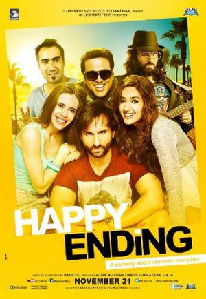 Happy Ending (2014 film) - Image: Happy Ending 2014 Hindi film poster