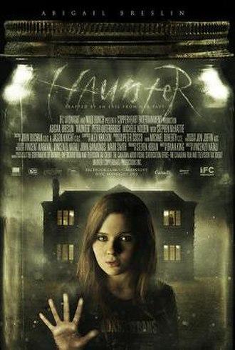 Haunter (film) - Theatrical release poster