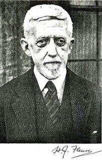 H. J. Fleure British scientist