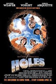 <i>Holes</i> (film) 2003 film by Andrew Davis