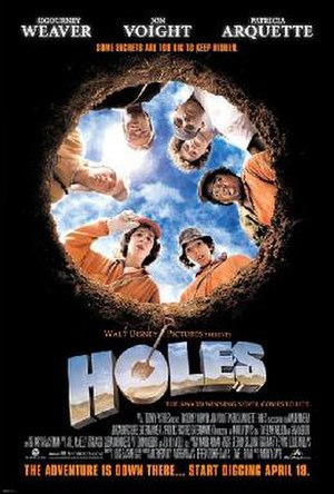 Holes (film) - Theatrical release poster