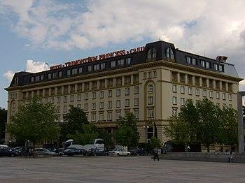 Trimontsium Hotel.