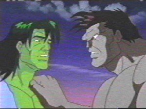 Rick Jones (comics) - Rick Jones as Hulk in the 1996 The Incredible Hulk TV series.