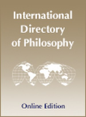 International Directory of Philosophy - Image: Idonelinecover 2