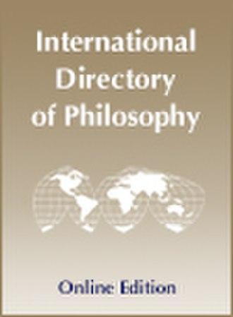 International Directory of Philosophy - Image: Idonelinecover 2