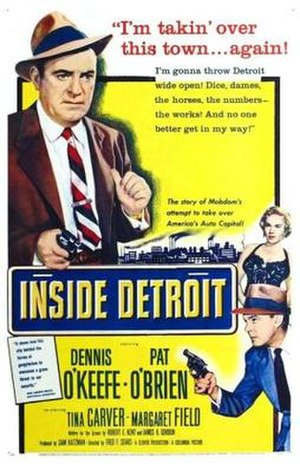 Inside Detroit - Theatrical release poster